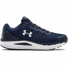 UA Charged Intake 4 Running Shoes, Academy/White