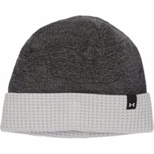 UA Reversible Beanie, Black/Grey