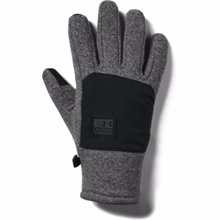 UA ColdGear Infrared Fleece Gloves, Black