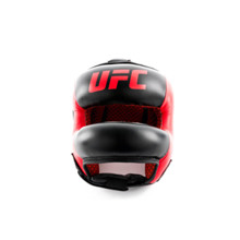 UFC PRO Full Face Head Gear, Red/Black