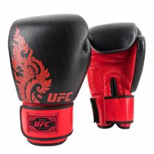 UFC True Thai Style Gloves, Black/Red