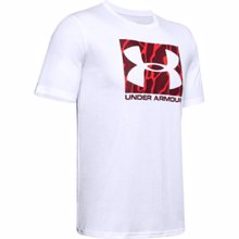 UA Boxed Sportstyle Camo Fill Graphic T-Shirt, White