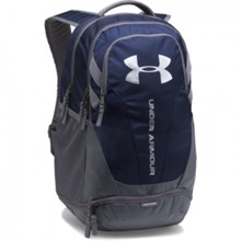UA Hustle 3.0 Backpack, Midnight Navy/Graphite