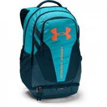 UA Hustle 3.0 Backpack, Deceit/Techno Teal