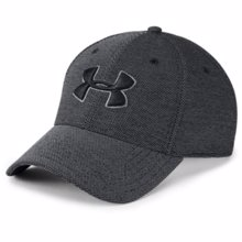 UA Blitzing 3.0 Cap Heathered, Black/Graphite