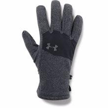 UA ColdGear Infrared Fleece 2.0 Gloves, Black/Graphite
