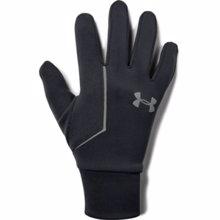 UA Storm Run Liner Gloves, Black