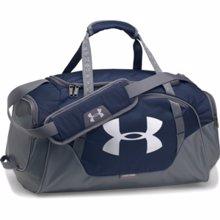 UA Undeniable 3.0 Small Duffle Bag, Midnight Navy/Graphite