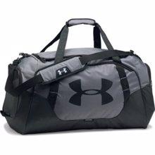 UA Undeniable 3.0 Medium Duffle Bag, Graphite/Black