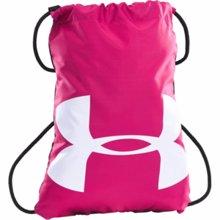 UA Ozsee Sackpack, Pink/Black