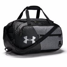 UA Undeniable 4.0 Small Duffel Bag, Graphite/Black