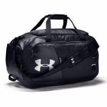 UA Undeniable 4.0 Medium Duffle Bag, Black/Silver