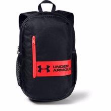 UA Roland Backpack, Black/Versa Red