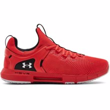UA HOVR Rise 2 Training Shoes, Versa Red/Halo Grey