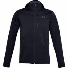 UA ColdGear Infrared Shield Hooded Jacket, Black