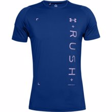 UA Rush HeatGear 2.0 Graphic Short Sleeve T-Shirt, Royal