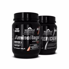 AminoRage, 500 g + Defender, 500 g GRATIS
