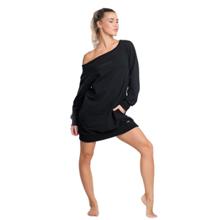 Solace Oversized Sweatshirt, Black