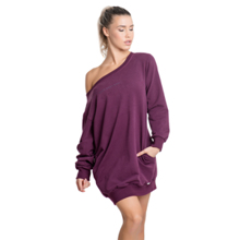 Solace Oversized Sweatshirt, Plum