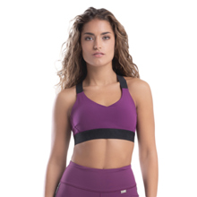 My Stripes Bra, Purple