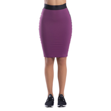 My Stripes Midi Skirt, Purple