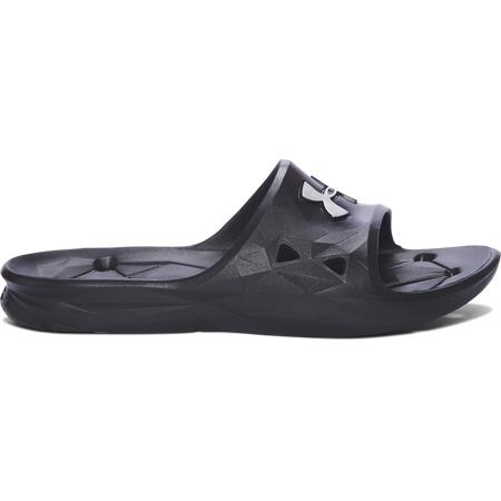 UA Locker III Slides, Black