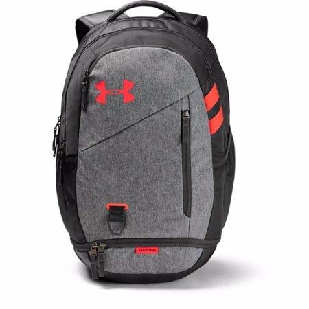 UA Hustle 4.0 Backpack, Jet Grey