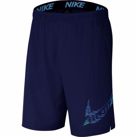 Nike Flex 2.0. Training Shorts, Graphic Blue Void