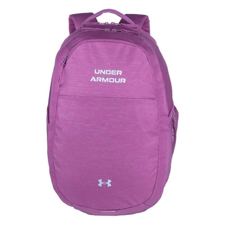 UA Hustle Signature Women's Backpack, Pink Quartz/Metallic Silver, UA