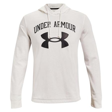 UA Rival Terry Big Logo Hoodie, Onyx White/Black