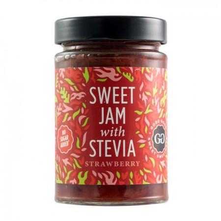 Sweet Jams with Stevia, 330 g
