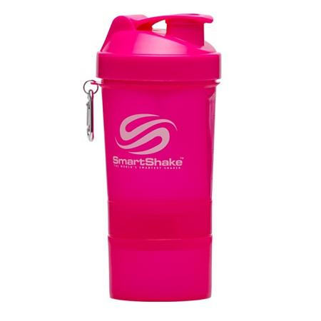 SmartShake Neon Pink, 400 ml