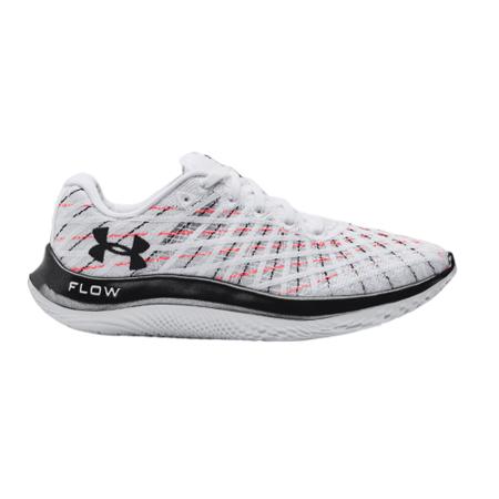 UA Flow Velociti Women's Shoes, Wind White/Pink/Black