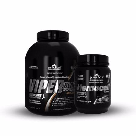 Viper Black, 1,8 kg + Hemocell, 250 g Bundle