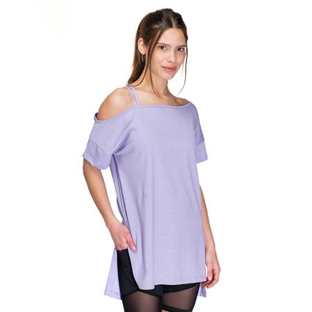 Donna Asymmetrical T-Shirt, Lilac