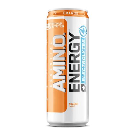 Amino Energy +Electrolytes RTD, Orange, 250 ml