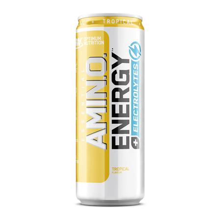 Amino Energy +Electrolytes RTD, Tropical, 250 ml