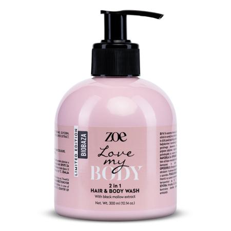 "Zoe ""Love my body"" 2in1 Duschgel und Shampoo, 300 ml"