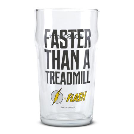 Trinkglas, The Flash - Faster Than a Treadmill