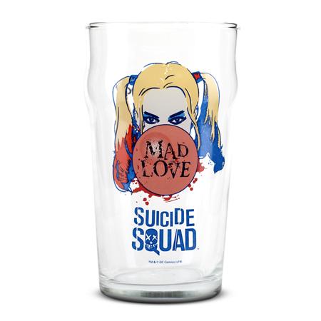 Trinkglas, Harley Quinn - Mad Love
