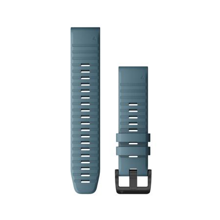 "Garmin Austauscharmband für Fenix 6, Silikon, Quick Fit 22"", Lakeside Blue"