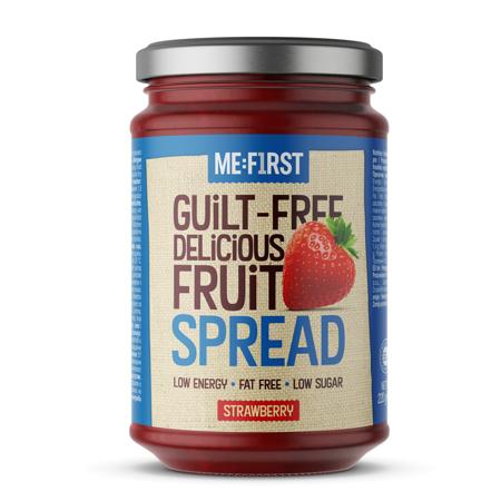 Guilt-Free Fruit Spread, 220 g, Strawberry