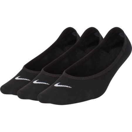 Nike Women's Lightweight No-Show Socks (3 Pair), Black