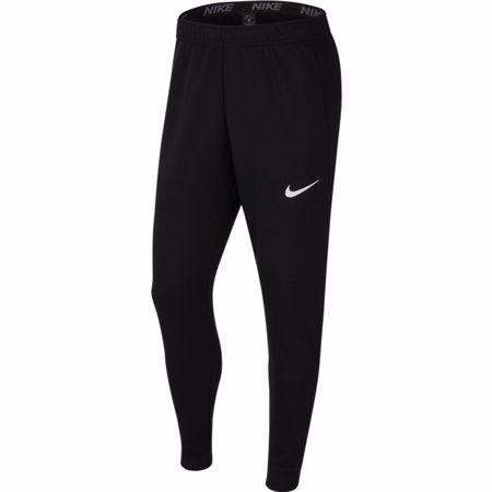 Nike Dri-Fit Fleece Training Pants, Black/White