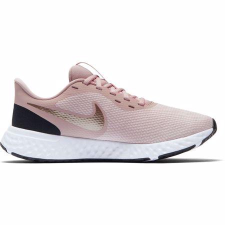 Nike Revolution 5 Women's Running Shoes, Rose/Metallic Red Bronze
