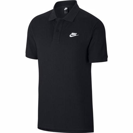 Nike Polo Shirt Sportswear, Black/White