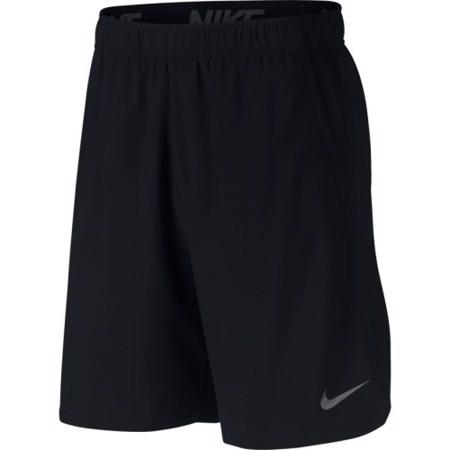 Nike Flex Woven Training Shorts, Black/Dark Grey