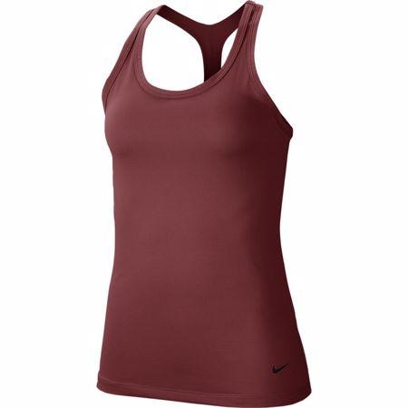 Nike Get Fit Women's Yoga Training Tank, Cedar/Black