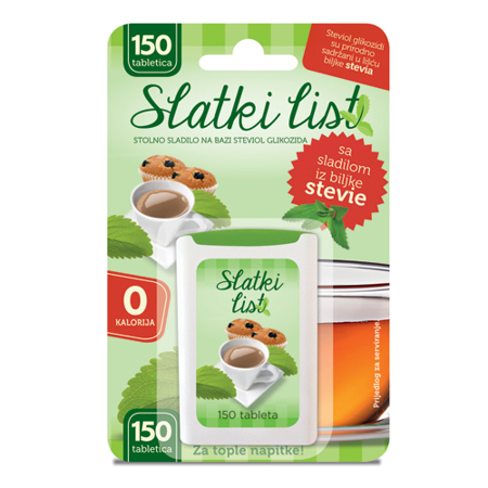 Stevia Tabletten, 150 Stück
