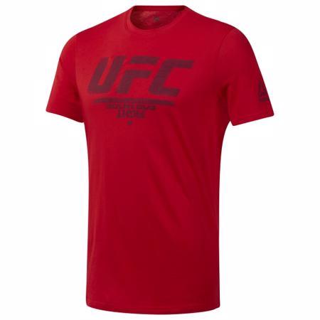 Reebok UFC Fan Gear Logo Tee, Primal Red